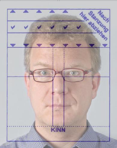 Biometrisches Passbild Schablone Download Kostenlos Chip 4