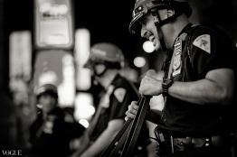NYC Police BW