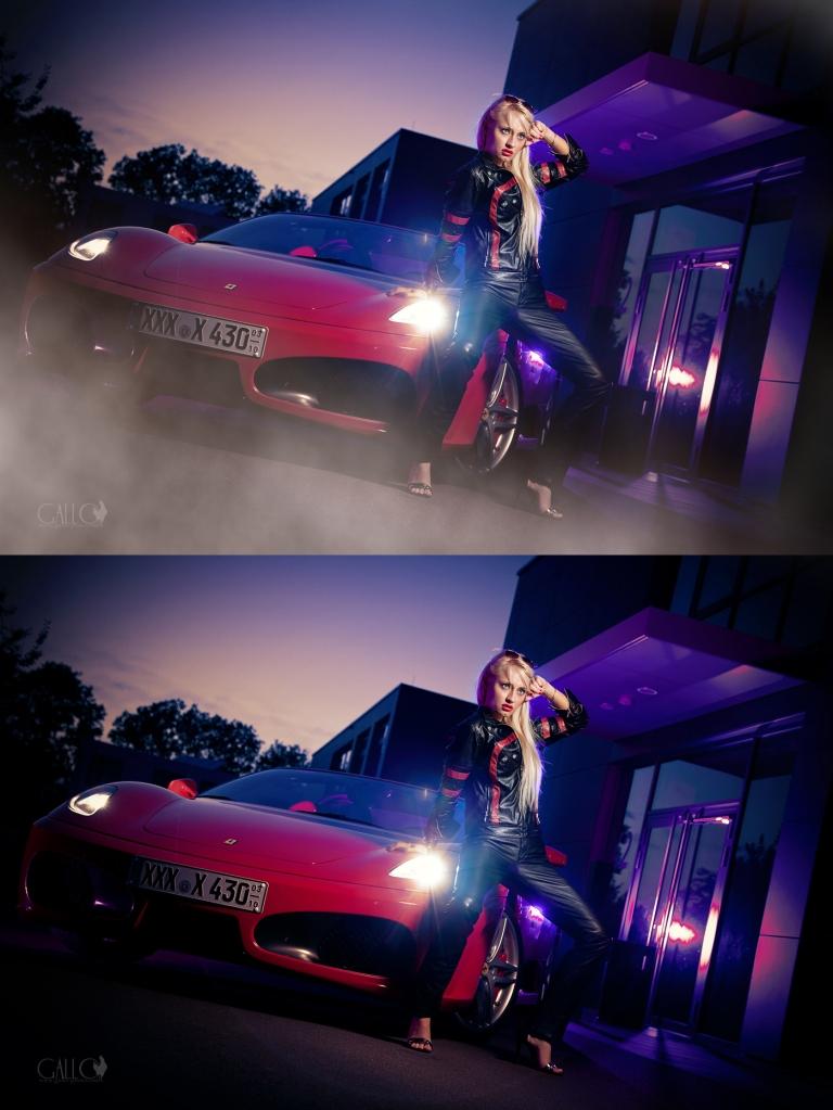 Smoking Hot Ferrari!