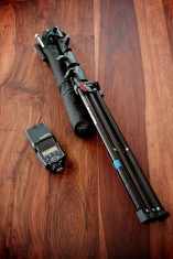 Mini brolly und Manfrotto Nano