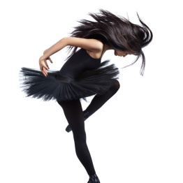 Die Vorlage für die Ballerina, von Fotolia, (c) Alexander Yakovlev