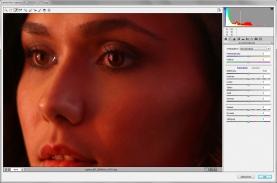 Adobe Camera Raw, Weißpipette aufs Auge
