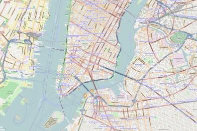Unsere zwei Locations bei der Brooklyn Bridge