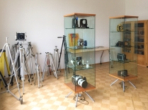 Das gerade entstehende kleine Linhof-Museum