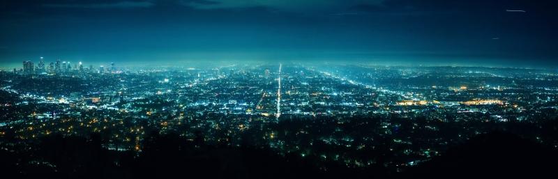 LA von oben, vom Observatorium aus