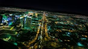 Vegas vom Heli aus