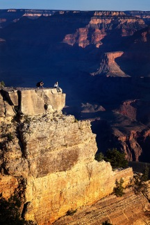 """Tired of Life"" am Grand Canyon ..."