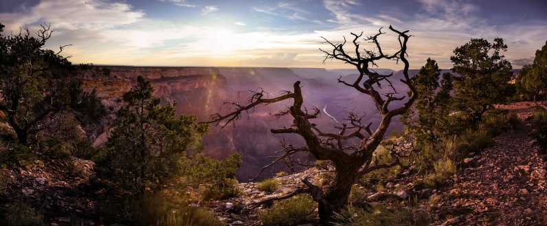 Grand Canyon, abends