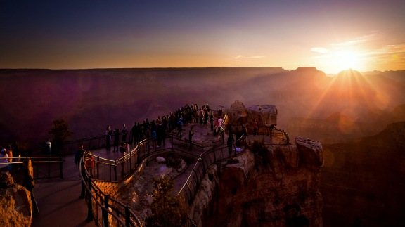 Grand Canyon, früh morgens