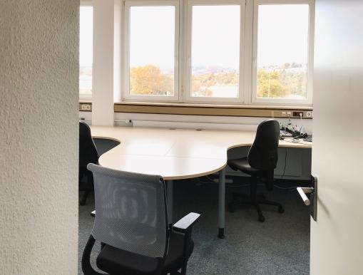 Unser Hauptlicht: ein Fenster